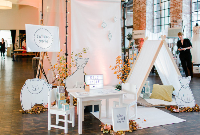 MINI-BASH Hochzeitsfeier mit Kindern - Kinderbetreuung
